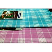 BATH TOWEL--COTTON TOWEL--A Set Of Two South Indian Towels-- Size 30 X 60 - 73589608