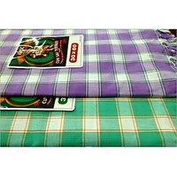 BATH TOWEL--COTTON TOWEL--A Set Of Two South Indian Towels-- Size 30 X 60 - 73590638