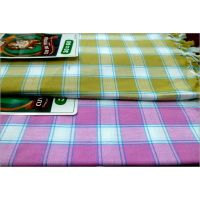 BATH TOWEL--COTTON TOWEL--A Set Of Two South Indian Towels-- Size 30 X 60 - 73591204
