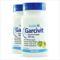 Buy1 Get 1Free HealthVit GARCIVIT Garcinia Cambogia Weight Loss 60 Capsules (Pack Of 2)
