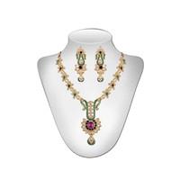 Panini Multicolour Necklace Set For Women_2861