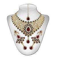 Panini Multicolour Necklace Set For Women_2881