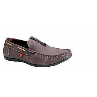 00RA Brown Slip On Formal Shoes