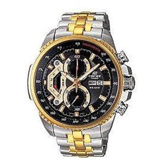 Imported Casio Edifice Analog Black Dial Men's Watch - EF-558SG-1AVDF (ED439)