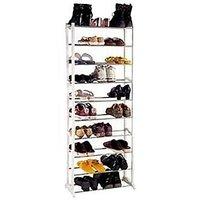 Shoe Rack With Metal Rods Storage Rack Organizer - 73752408