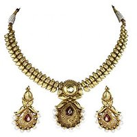 BGS Style Diva Gold Polki Set For Women