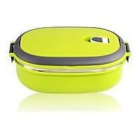 Single Layers Stainless Steel Lunch Box With Handle - 73774104