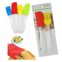 NiMarketing Silicone Brush & Spatula Kitchen Cooking & Applying Butter /Oil 1Pc