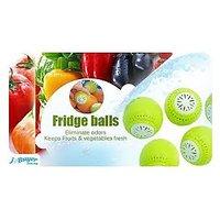 Fridge Balls(Set Of 3 )-Original Eleminate Odour Keeps Fruits & Veg Garden Fresh