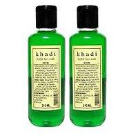 Khadi Herbal Neem Face Wash (Twin Pack)
