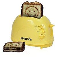 Pop-up Toaster 2 Slice    EL-820    (with Smiley)