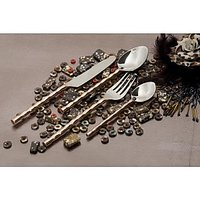Cocoon Shine Cutlery Set (Set Of 24)