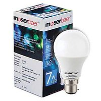 Moserbaer 7W Led Bulb (Cool White) Pin Type - Pack Of 04
