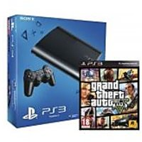 SONY PS3 12 GB WITH GTA V DVD