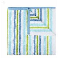 Trident Home Essentials Solid  Waffle Bath Towel-Light Green