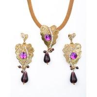 Lovely Pendant Set By Kavyanjali Jewels  010