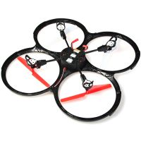 Senxiang SX S43 2.4G 4CH 6 Axis Gyro RC Quadcopter For Flying Play Black