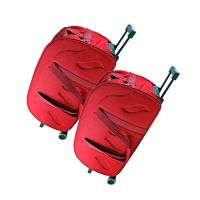 "KeepSake Maroon 2 Wheel Trolley Duffle Bag- 20"" & 24"" (Inch) Size Combo Sets"