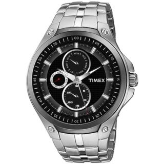 Timex Black Dial Men's Watch - TI000U10100