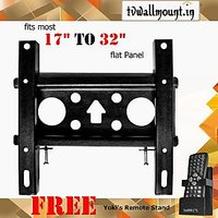 """Fixed Wall Mount Bracket Kit For Sony & Samsung LCD LED TV For Size 32"""""""