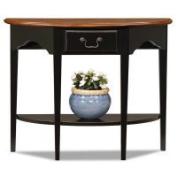 Afydecor Console Table In  Black