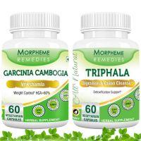 Garcinia Cambogia (HCA >60%) + Triphala For Weight Loss Supplement MORPH243