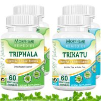 Triphala + Trikatu Supplements For Effective Weight Loss (Pack Of 4)  MORPH248