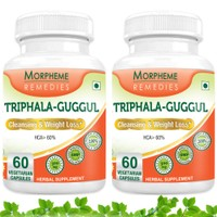 Morpheme Triphala Guggul Supplements For Cleansing & Weight Loss MORPH289