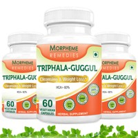 Morpheme Triphala Guggul Supplements For Cleansing & Weight Loss  MORPH307