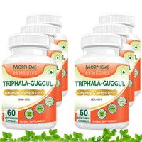 Morpheme Triphala Guggul Supplements For Cleansing & Weight Loss  MORPH325