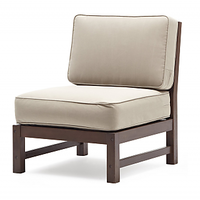 Afydecor Modern Accent Chair In Brown