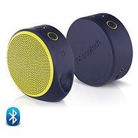 Logitech X100 Mini Bluetooth Speaker (Purple-Yellow)