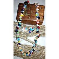 Multi Colour Stone Necklace Set By Handikart