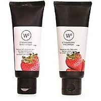 W2 Strawberry Face Wash & Strawberry Moisturiser 100gm Each