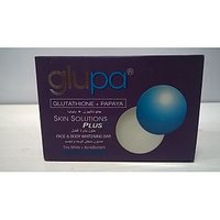 Glupa Glutathione + Papaya Skin Solutions PLUS++ Face & Body Whitening Bar