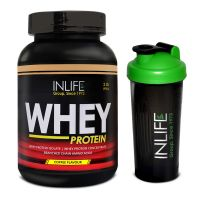 INLIFE Whey Protein 2Lb Coffee Flavour With Free Shaker