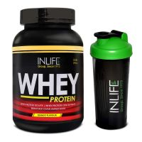 INLIFE Whey Protein 2Lb Mango Flavour With Free Shaker