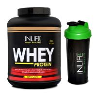 INLIFE Whey Protein 5Lb Coffee Flavour With Free Shaker