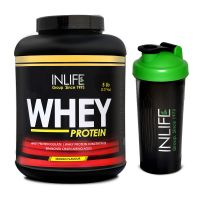 INLIFE Whey Protein 5Lb Mango Flavour With Free Shaker
