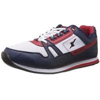 Sparx Men's Navy Blue And Red Running Shoes