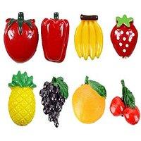 Fridge Fruit Magnet (Set Of 8 Pcs)
