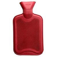 Hot Water Bottle/Bag, One Side Ribbed, BODY HEAT MASSAGE