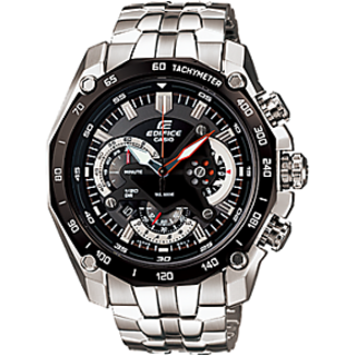 CASIO EDIFICE EF 550D 1AV BLACK DIAL CHRONOGRAPH TRENDY MENS WRIST WATCH GIFT U - 74208930