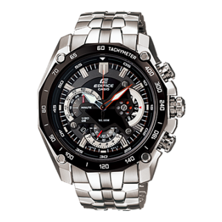 CASIO EDIFICE EF 550D 1AV BLACK DIAL CHRONOGRAPH SMART MENS WRIST WATCH GIFT A