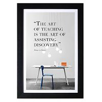 The Art Of Teaching Is The Art Of Assisting Discovery