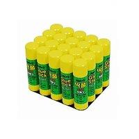 Amos 15 Gms Glue Stick Wholesale Pack - Set Of 20 Pieces