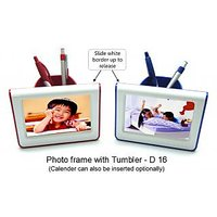 Photo Frame With Tumbler(Holder For Pen Pencils And Other Stuff)