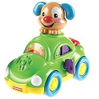 Fisher Price Laugh & Learn Puppy's Learning Car