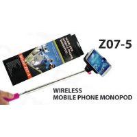 Wireless Bluetooth Handheld Monopod Aluminum Extendable Handheld Wireless Mobile