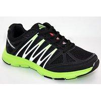 Adibon Running Sport Shoe Black/Fl.Green